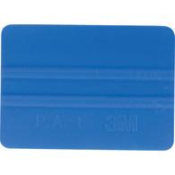 """4"""" 3M Bump Card Squeegee - Blue"""
