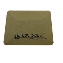 "4"" Teflon Hard Card - Gold Flex Firm"