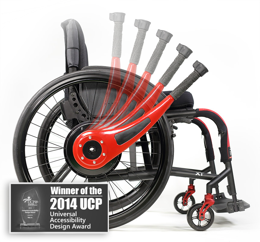 Wheelchair Lever Driving and Braking System – Wheal Chair