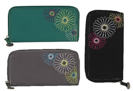 RFID Blocking Ladies Clutch Wallet