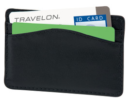 RFID Blocking Leather Card Case