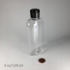 Oval-PET Bottle - 4 oz/120 ml