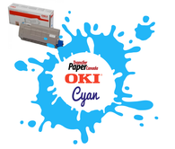 Cyan Toner - (for OKI C711WT)