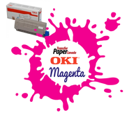 Magenta Toner - (for OKI C711WT)