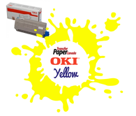 Yellow Toner - (for OKI C711WT)