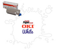 White Toner - (for OKI C711WT)