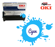 Cyan Image Drum - (for OKI C711WT)