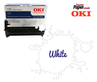 White Image Drum - (for OKI C711WT)