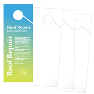 Printable Door Knob Hangers - 4 Up Straight