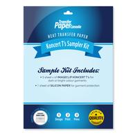 SAMPLER KIT - Koncert T's Transfer Paper
