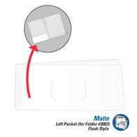 Pocket (for Matte CLC Presentation Folders) - Left Side