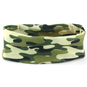 Face Shield Green Camo