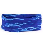 Face Shield Blue Flame