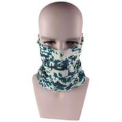 Military Camo Sun Safe Face Shield