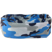 Face Shield Blue Camo