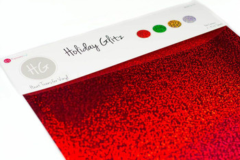 Holiday Glitz Pack - Holographic Heat Transfer