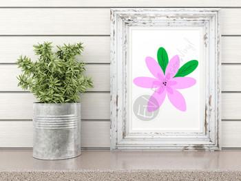 Flower 1 Digital Cut File