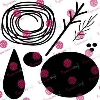 Flower 3 Digital Cut File