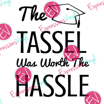 Tassel Hassle Digital Cut File