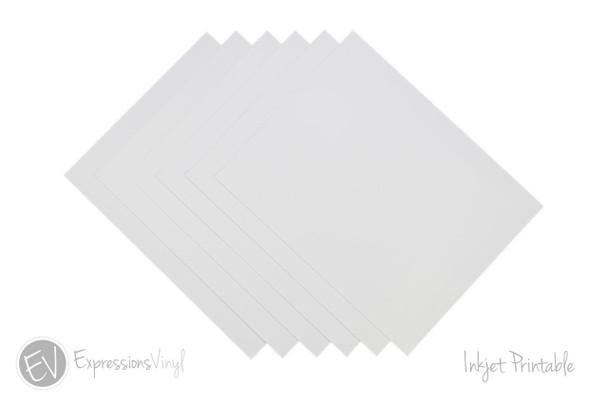 Inkjet Printable Vinyl Sheets