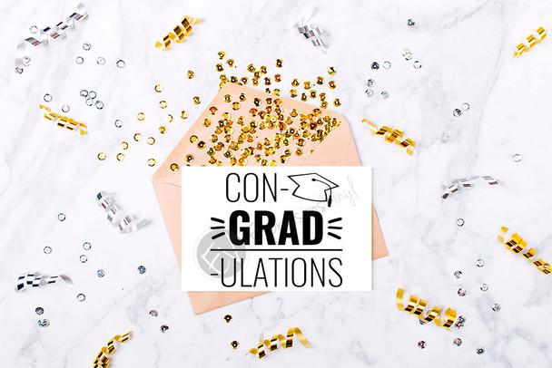 Con-Grad-Ulation Digital Cut File