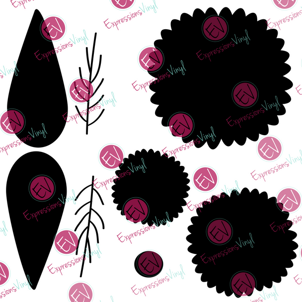 Flower 2 Digital Cut File