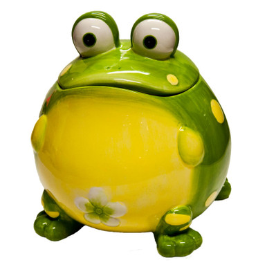Frog Cookie Jar Cake Chefs Cookie Jar