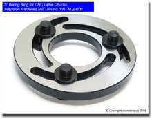 "5"" Jaw Boring Ring for CNC power chucks High Precision Hardened and Ground"