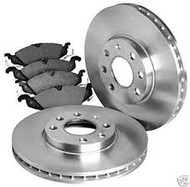 Full Set of Brake Pads & Discs FRONT Ford Focus 2005...>