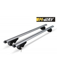 Roof Bars for Cars & SUV's with flush Roof Rails - Aluminium Aerodynamic