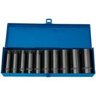 "10PC DEEP IMPACT SOCKET SET 1/2""  EXPERT HI-TORQ METRIC"