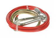 BREAKAWAY CABLE RED 1M x 2MM