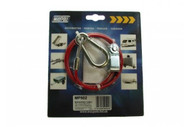 BREAKAWAY CABLE PVC RED 1M x 3MM (CLEVIS) MP502