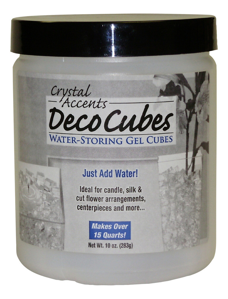 Water Storing Deco Cubes 10 oz Blue
