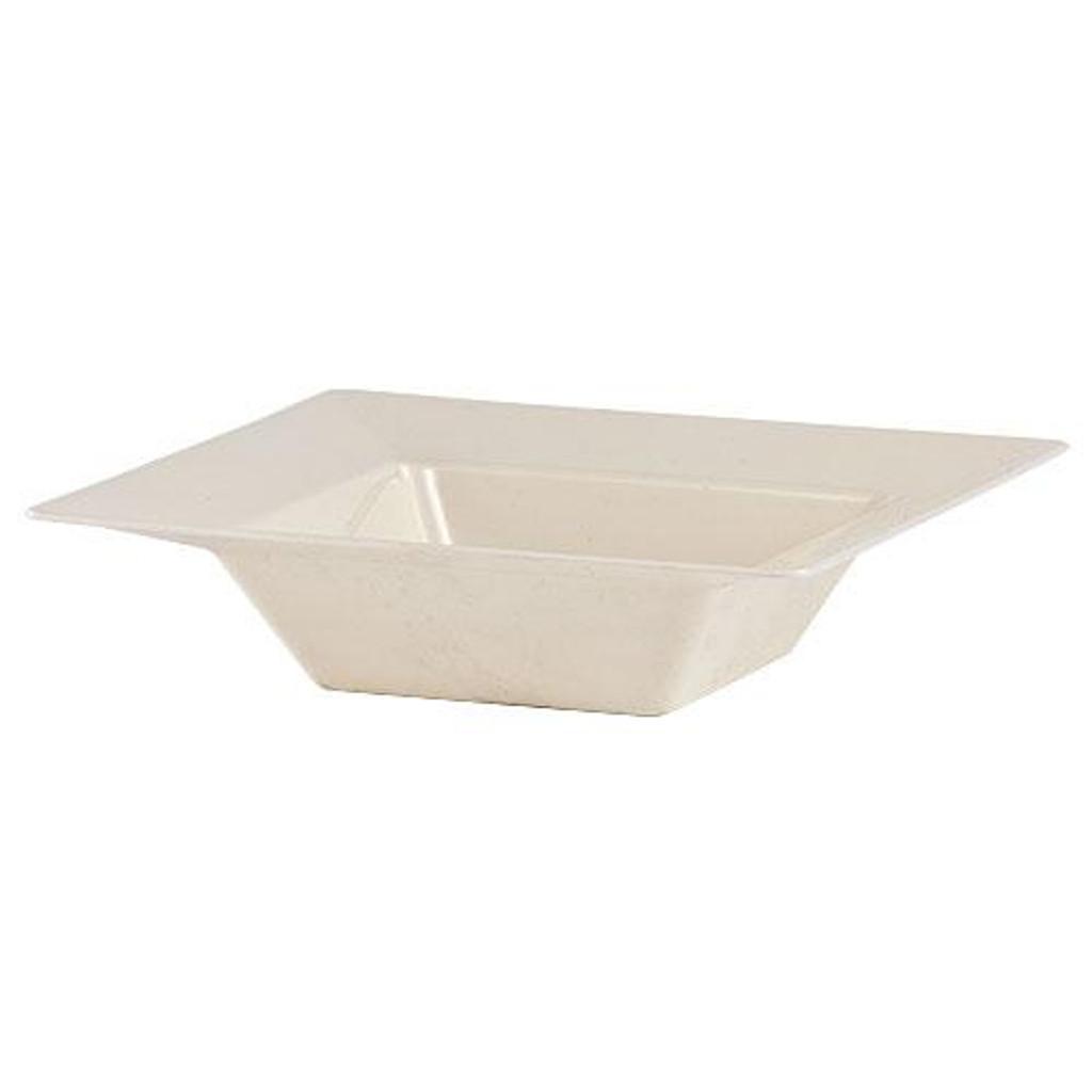 Plastic Squares 5 oz Bowl Cream - 10 Ct.