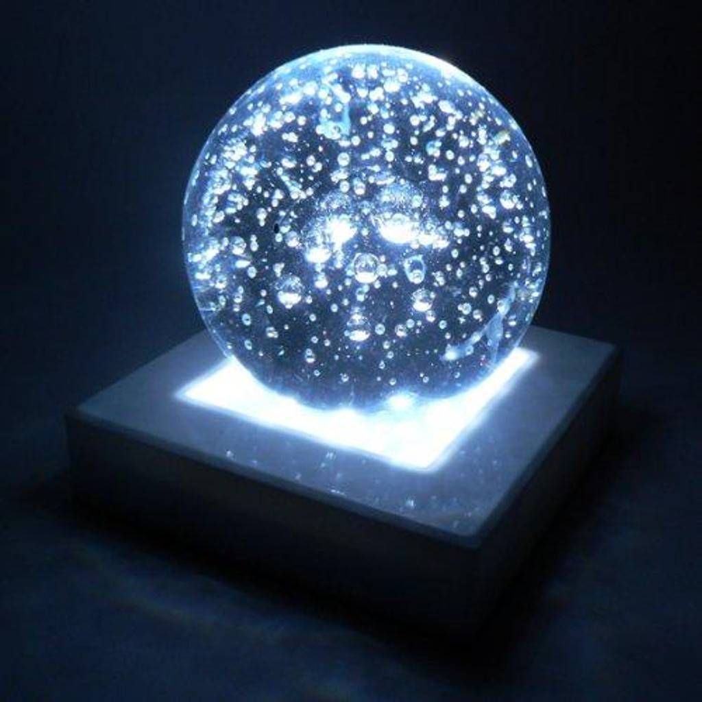 Light Base - 5 inch Square, 16 White LEDs