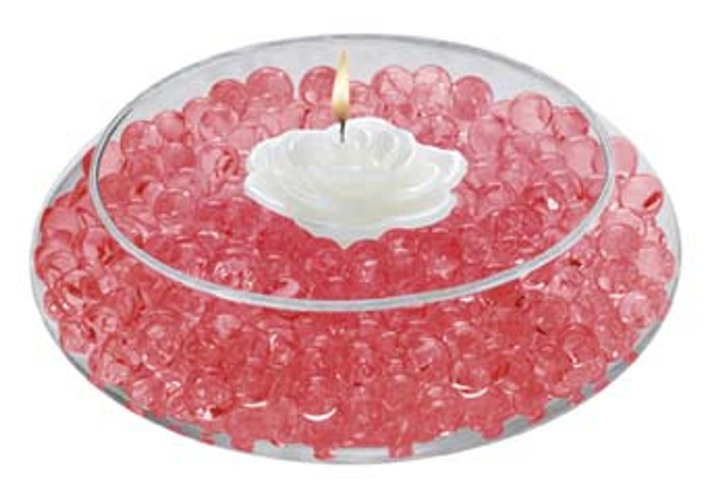 Water Storing Deco Beads 8 oz Red