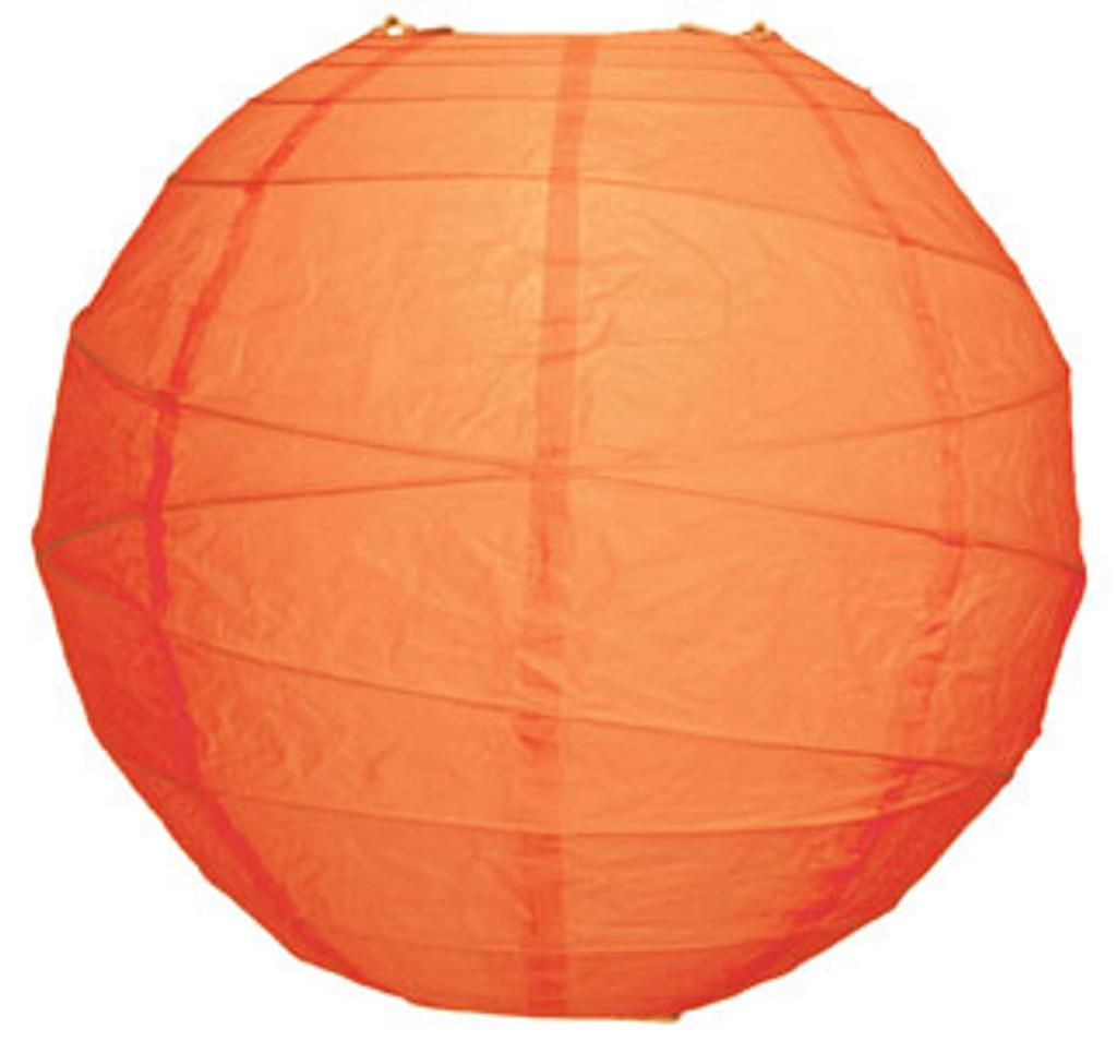 Premium Mango 18-Inch Round Paper Lantern