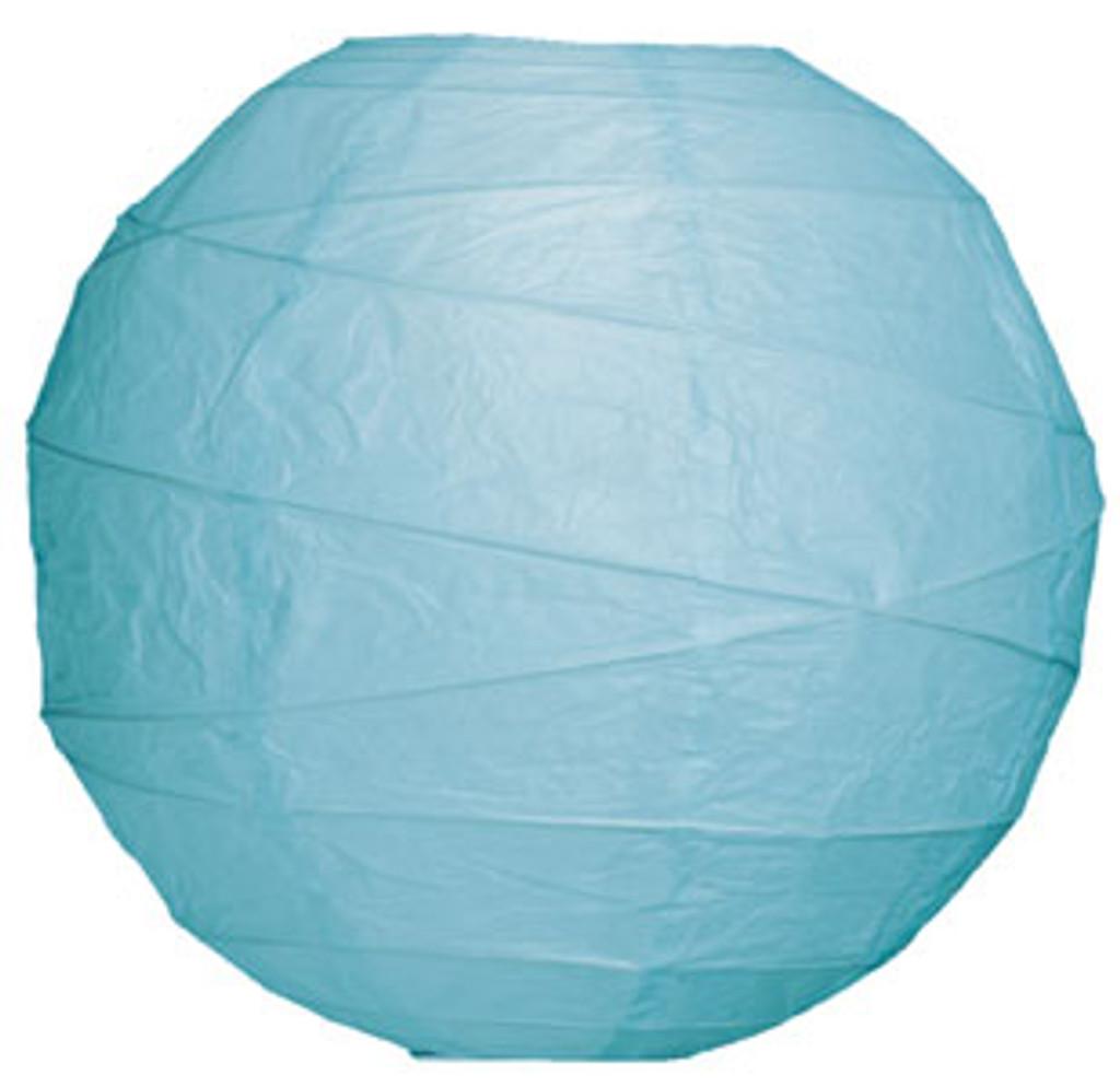 Premium Ice 18-Inch Round Paper Lantern