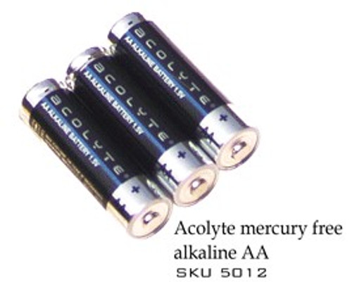 (6) AA Batteries