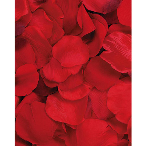 Pack of 100 Loose Rose Petals - Mixed Red