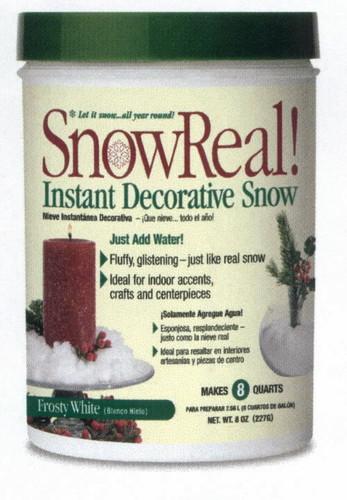 SnowReal 8 oz Jar