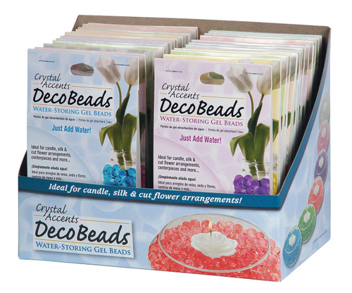 Water Storing Deco Beads - .5 oz packets