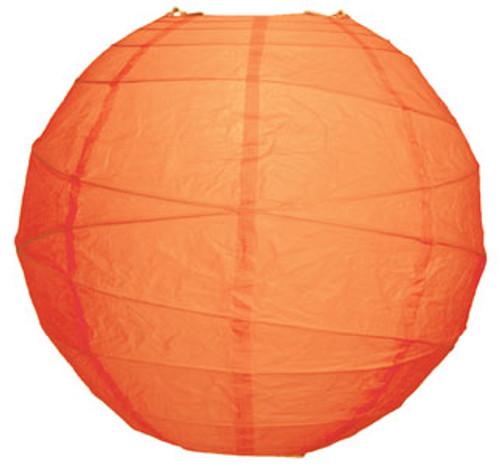 Premium Mango 14-Inch Round Paper Lantern
