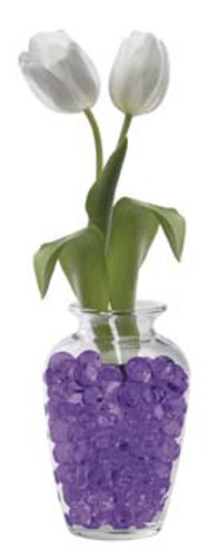 Water Storing Deco Cubes 10 oz Purple
