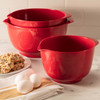 Hutzler Mixing Bowl Set in Red