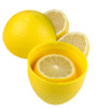 Hutzler Lemon Saver opened with lemon