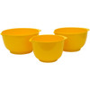 Melamine Mixing Bowls Yellow