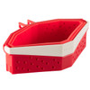 Red Collapsible Cooker collapsed