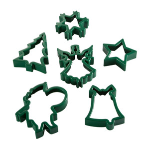Hutzler Yule Cheer Cookie Cutter Set